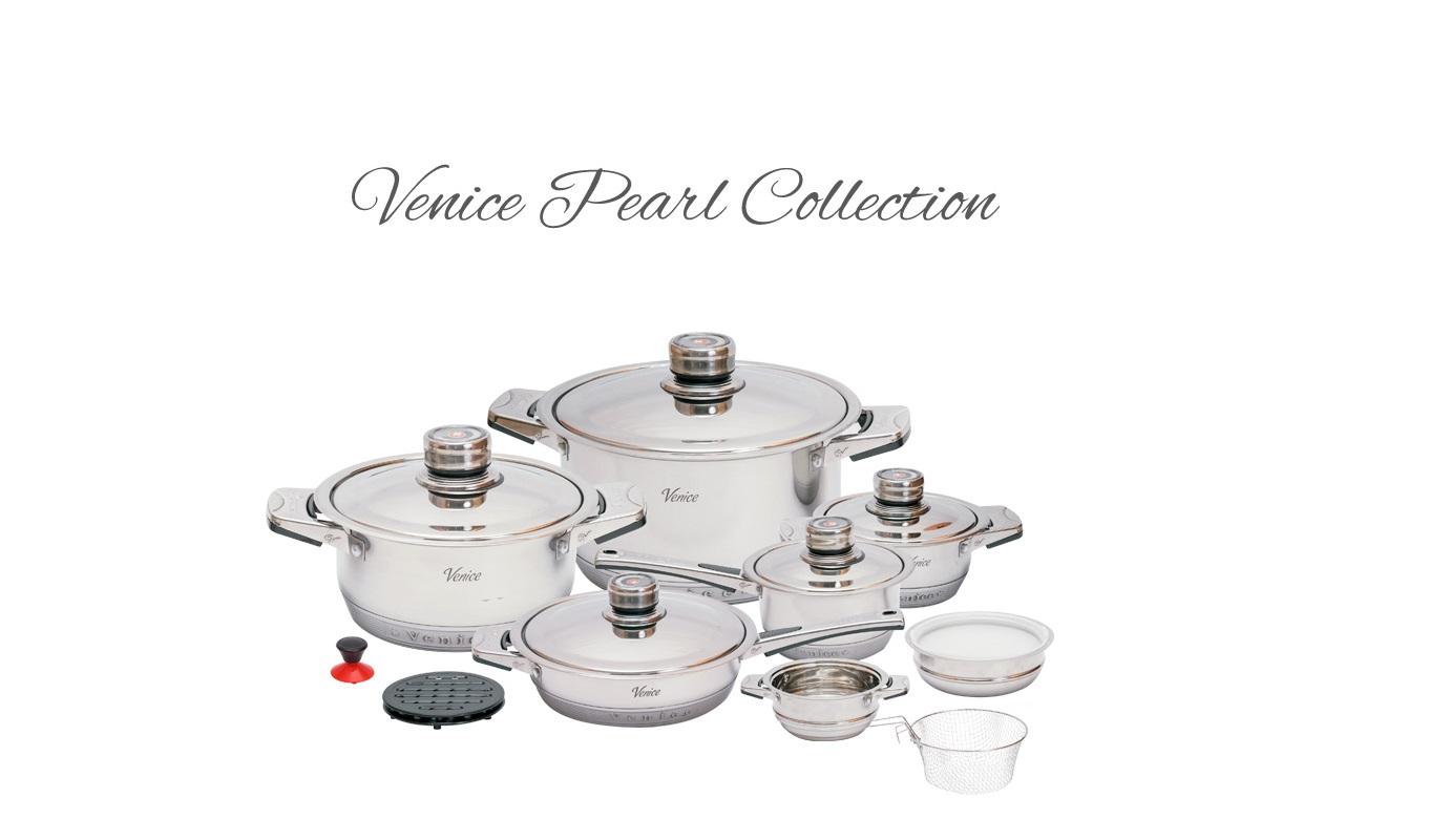 Garnki Venice 19 Pearl Collection - włoska jakość w Twojej kuchni!